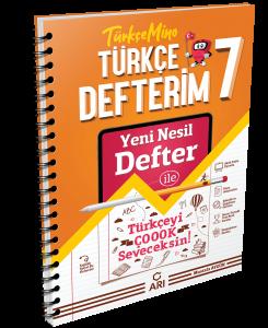 TürkçeMino Türkçe Defterim 7. Sınıf
