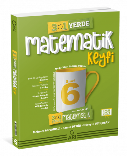 Matemito 3'ü 1 Yerde Matematik Keyfi 6.Sınıf