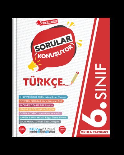 Pruva Akademi - 6. Sınıf Türkçe Soru Bankası